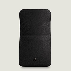 Leather Pouch for iPhone X - Vajacases
