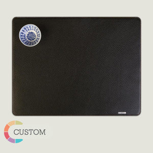 Customizable Square Leather Placemat - Vaja