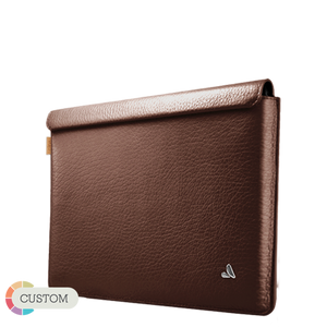 "Customizable iPad Pro Leather Sleeve 10.5"" XL"