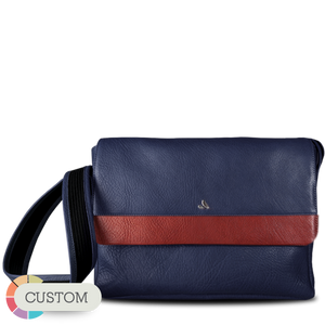 Custom Messenger Leather Bag for Macbook 13""