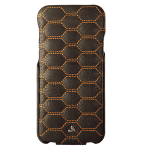 Top Matelasse Quilted Flip Top iPhone 7 leather case