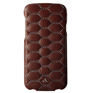 Flip Top Matelasse iPhone 7 leather case