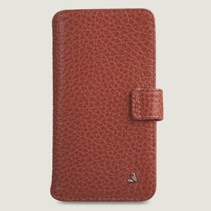 iPhone XI R Wallet leather case with magnetic closure - Vaja
