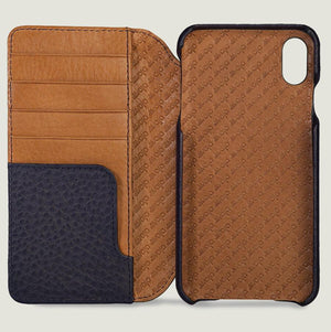 Wallet LP - iPhone XS Max Leather Case - Vajacases