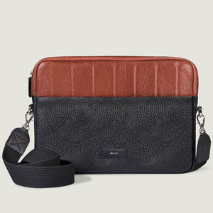 "MacBook Air 13"" Leather Zippered Pouch"