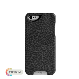 Customizable Grip -  Leather Hardshell iPhone SE Cases