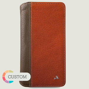 Custom Wallet Agenda LP iPhone Xs Max Leather Cases - Vajacases