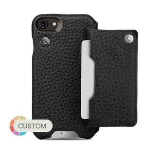 Customizable Niko Wallet iPhone 7 Leather Case