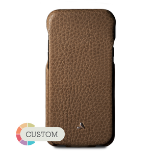 Custom Top iPhone X / iPhone Xs Leather case