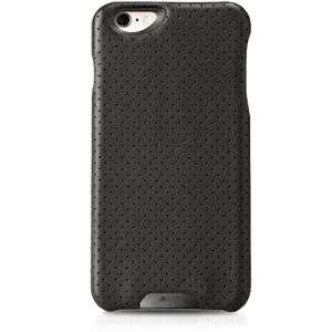 Grip Piqué - Black Label iPhone 6 Plus/6s Plus Premium Leather Case
