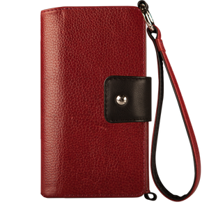 Lola XO - iPhone 8 Plus Wallet leather wristlet case - Vajacases