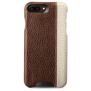 Grip LP - iPhone 7 Plus Two tone leather case