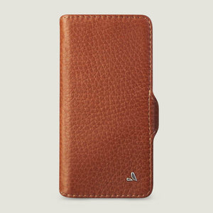 iPhone 12 & 12 pro wallet leather case with MagSafe - COSTURA - Vaja