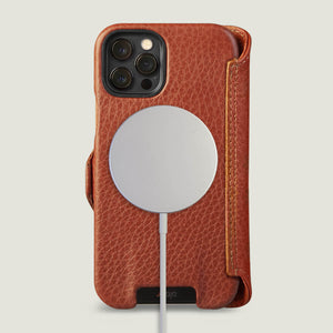 iPhone 12 & iPhone 12 Pro wallet leather case with MagSafe
