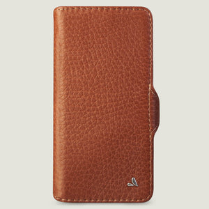 iPhone 12 Pro Max wallet leather case with MagSafe