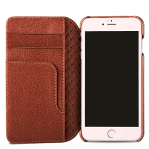 Wallet Agenda iPhone SE / 8 Leather Case