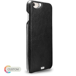 Customizable Grip Silver Argento - Unique iPhone 6 Plus/6s Plus Leather Case