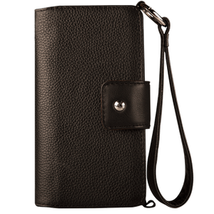 Lola XO - Premium iPhone 7 Plus leather wristlet case