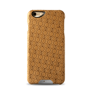 iPhone 6/6s Plus - Embossed Leather Grip Case