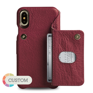 Niko Wallet iPhone X Leather Case