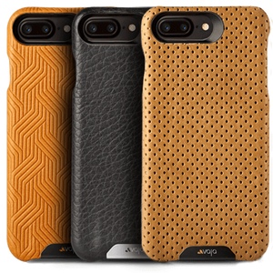 Grip - Leather Case for iPhone 8 Plus - Vajacases