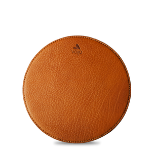Leather Round Mouse Pad