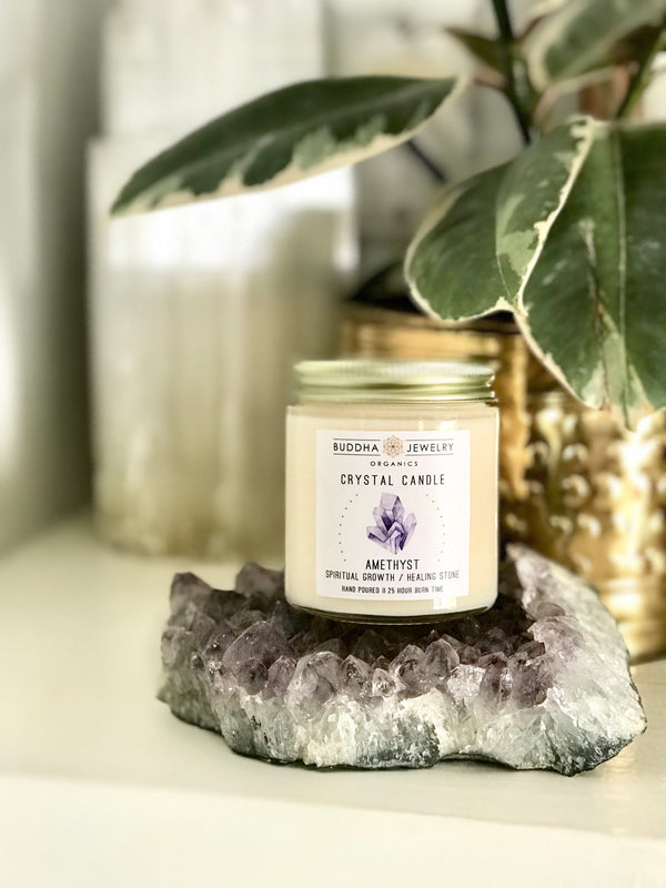 New Item!! Crystal Candles