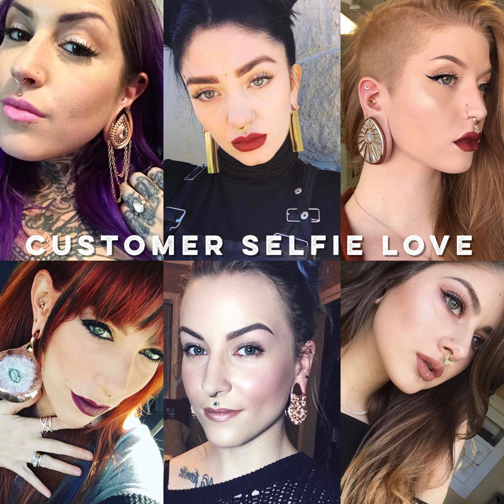 Our favorite customer selfies of early 2017!