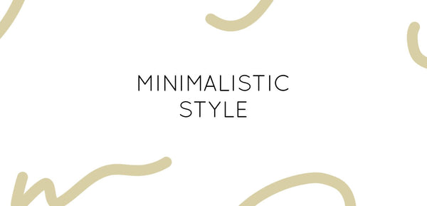 For the love of gold - Minimalistic Modern Style