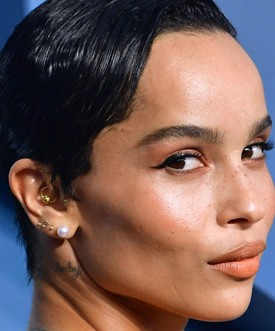 Zoe Kravitz Ear Piercings