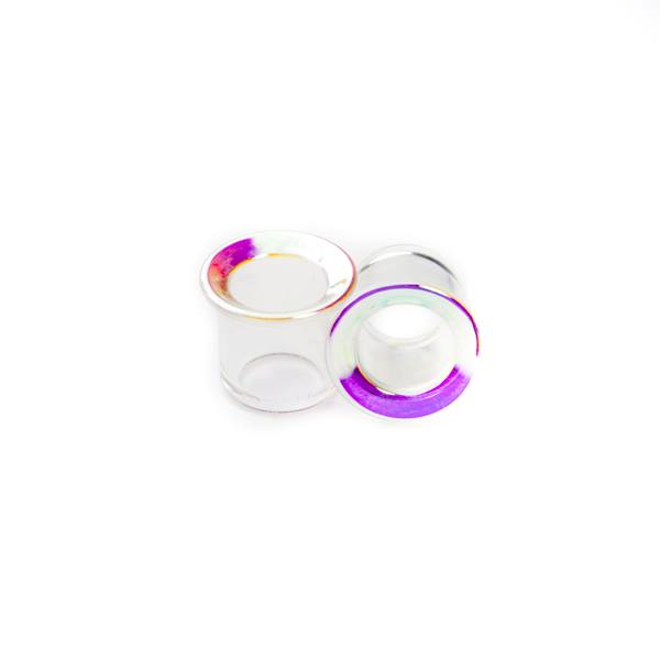 Iridescent Glass Eyelets