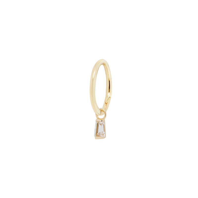 Madeline charm in yellow gold on ring