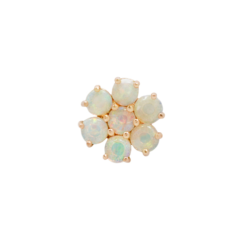 Solange Opal Threadless End Solid Yellow Gold
