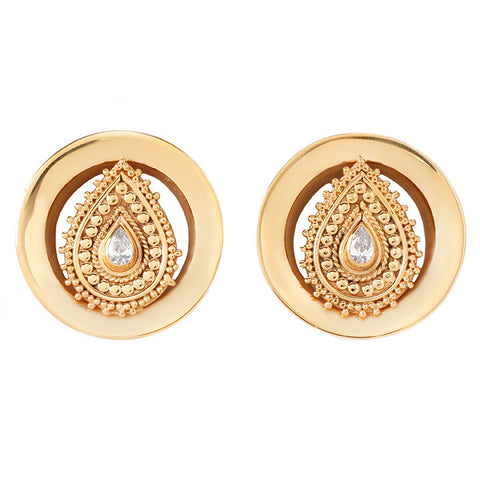 Deity Round Plugs Yellow Gold*