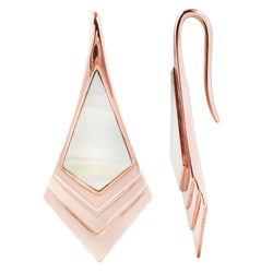 Royal Earrings in rose gold
