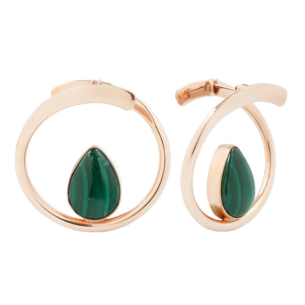 Stay Sexy Earrings - Malachite