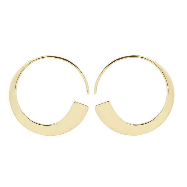Mirah Earrings Yellow Gold
