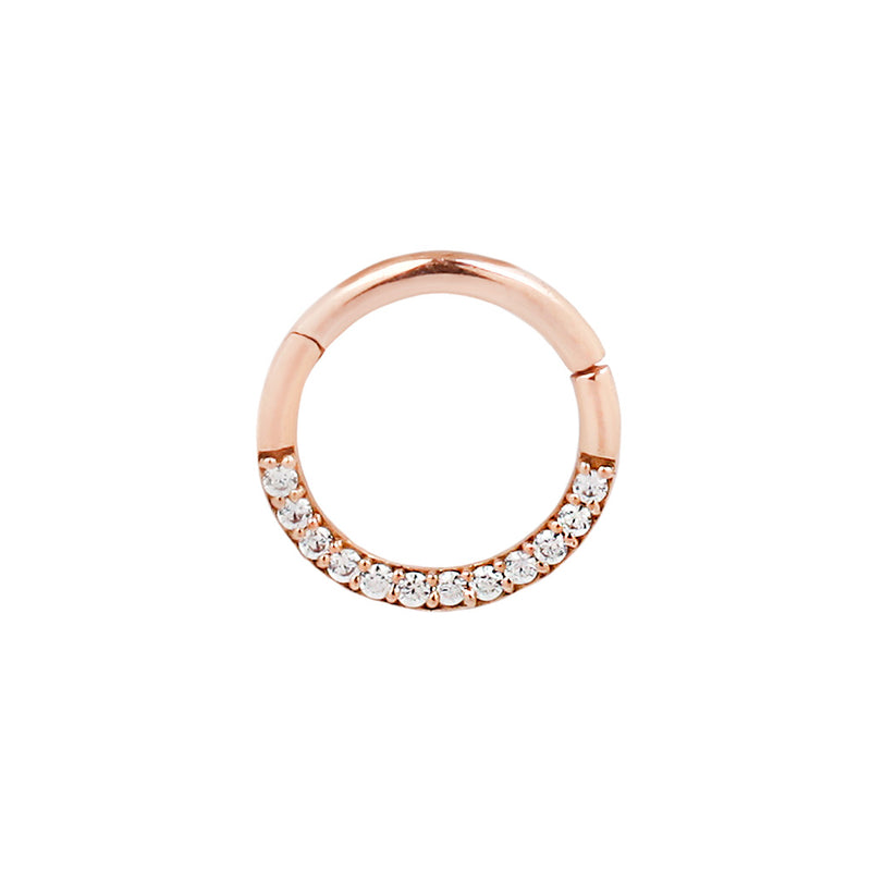 Rose gold Dia Clickers CZ