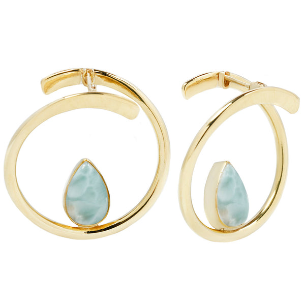 Stay Sexy Earrings -Larimar