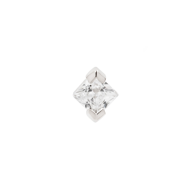 Celestial Diamond in solid white gold