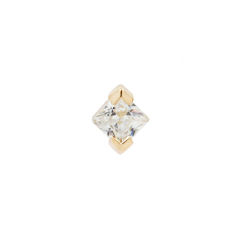 Celestial Diamond in solid yellow gold