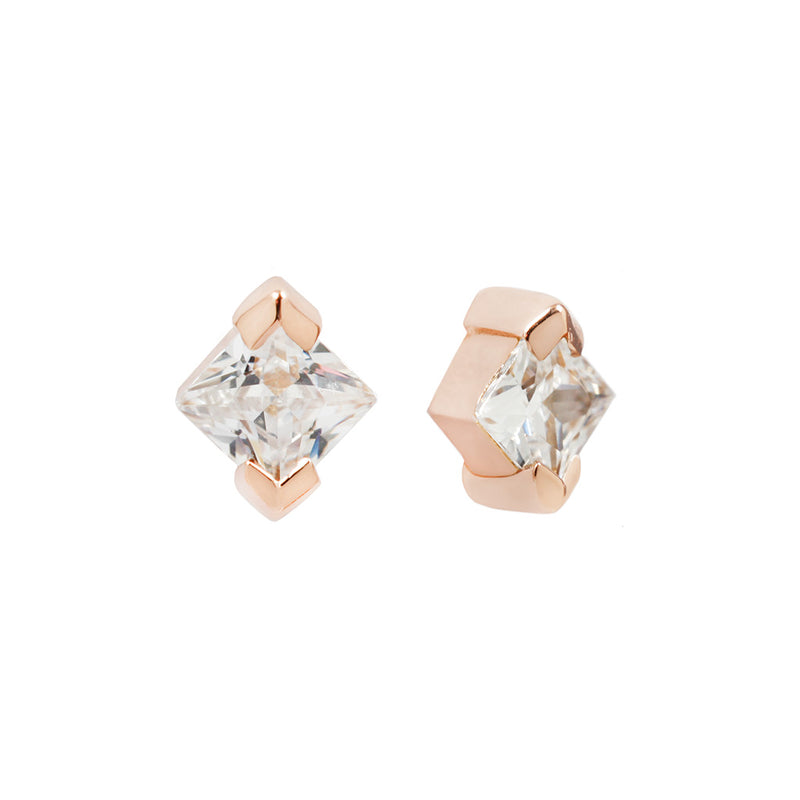 Celestial Diamond in solid rose gold