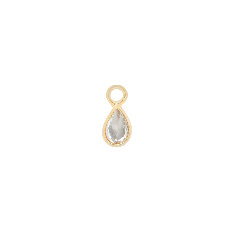 Topaz Concorde Charm in yellow gold
