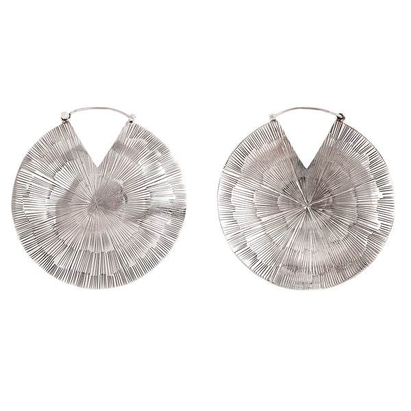 Glamazon Earrings in Silver