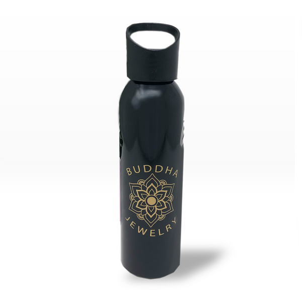 Mandala Logo Aluminum Water Bottle