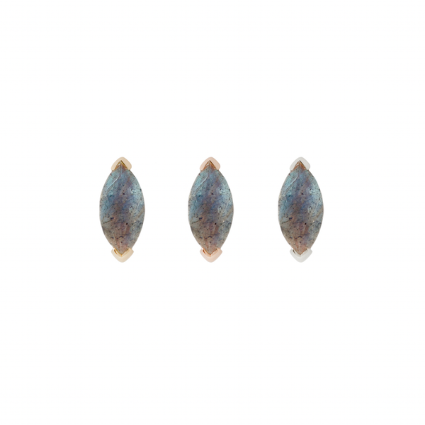 Zuri Labradorite - Threadless End