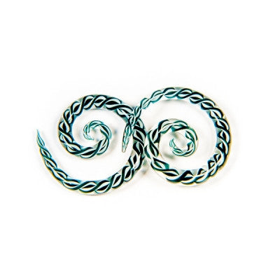 Ribbon Glass Super Spiral