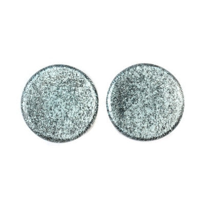 Silver Dichro Glass Plugs