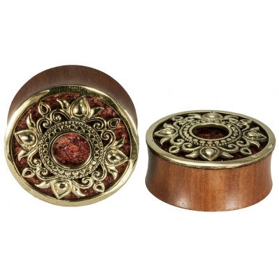 Philomena Coral inlay Plug