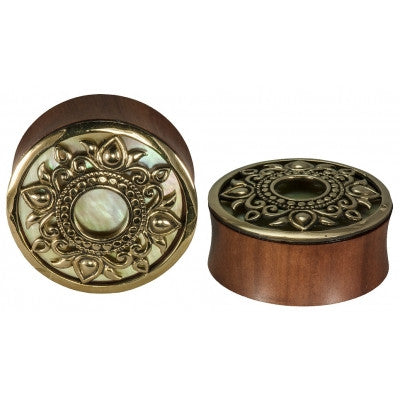 Philomena Mother Of Pearl inlay Plug